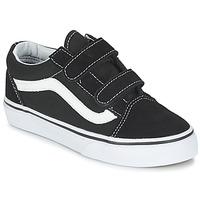 Sapatos Criança Sapatilhas Vans OLD SKOOL V Preto / Branco