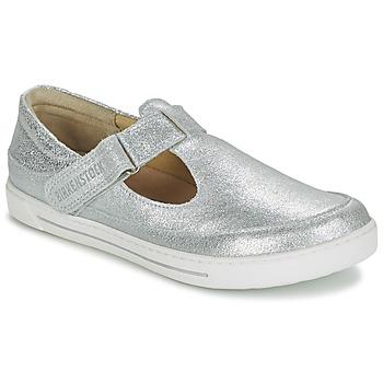 Sapatos Criança Sandálias Birkenstock ABILENE Prateado