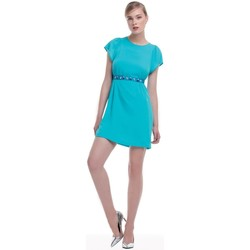 Textil Mulher Vestidos curtos Kocca Vestido Badea Azul