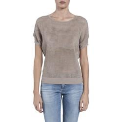 Textil Mulher Tops / Blusas Kocca Camisola Arvin Bege