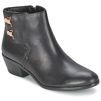 Sapatos Mulher Botas baixas Sam Edelman PETER Preto
