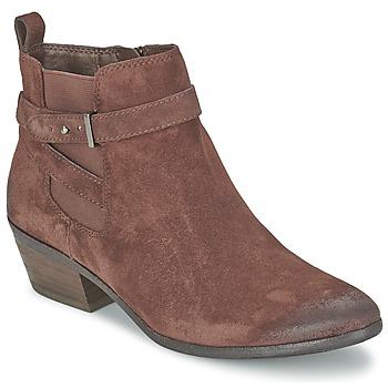 Sapatos Mulher Botins Sam Edelman PACIFIC Castanho