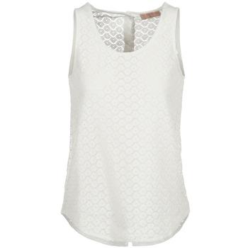 Textil Mulher Tops sem mangas Moony Mood IGUOHIAVINE Branco