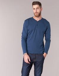 Textil Homem T-shirt mangas compridas BOTD ETUNAMA Marinho