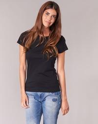 Textil Mulher T-Shirt mangas curtas BOTD EQUATILA Preto