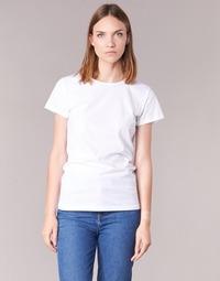 Textil Mulher T-Shirt mangas curtas BOTD EQUATILA Branco