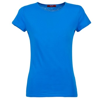 Textil Mulher T-Shirt mangas curtas BOTD EQUATILA Azul