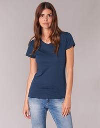 Textil Mulher T-Shirt mangas curtas BOTD EFLOMU Marinho