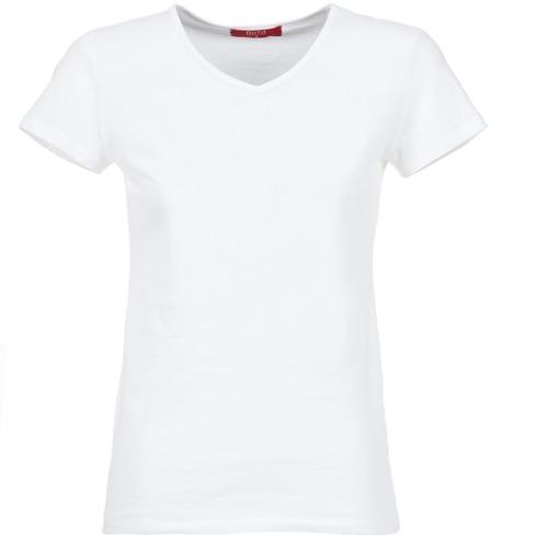 Textil Mulher T-Shirt mangas curtas BOTD EFLOMU Branco