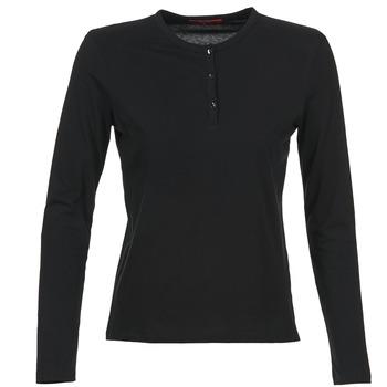Textil Mulher T-shirt mangas compridas BOTD EBISCOL Preto