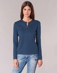 Textil Mulher T-shirt mangas compridas BOTD EBISCOL Marinho