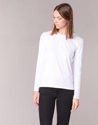 Textil Mulher T-shirt mangas compridas BOTD EBISCOL Branco