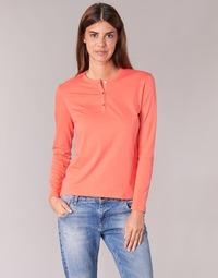 Textil Mulher T-shirt mangas compridas BOTD EBISCOL Laranja