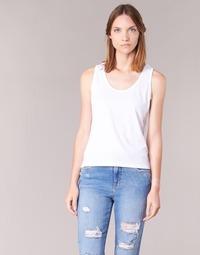 Textil Mulher Tops sem mangas BOTD EDEBALA Branco
