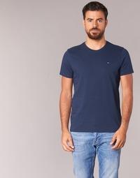 Textil Homem T-Shirt mangas curtas Tommy Jeans OFLEKI Marinho