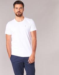 Textil Homem T-Shirt mangas curtas Tommy Jeans OFLEKI Branco