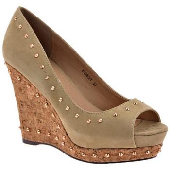 Sapatos Mulher Escarpim F. Milano  Cinza