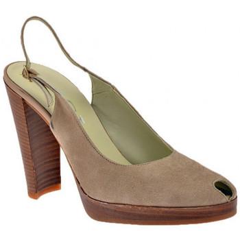 Sapatos Mulher Escarpim Nci  Cinza
