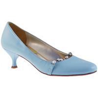 Sapatos Mulher Escarpim Fascino  Azul