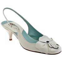 Sapatos Mulher Escarpim David  Bege