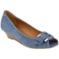 Sapatos Mulher Escarpim Lea Foscati  Azul