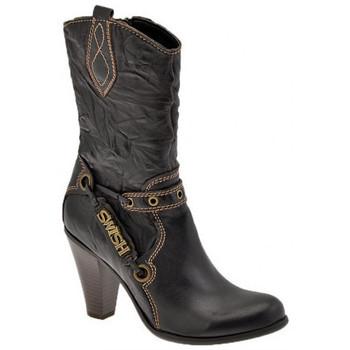 Sapatos Mulher Botins Swish  Castanho