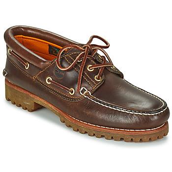 Sapatos Homem Sapato de vela Timberland 3 EYE CLASSIC LUG Castanho