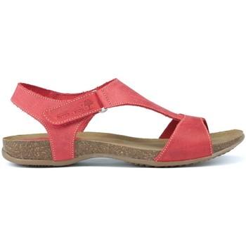 Sapatos Mulher Sandálias Interbios SANDALIA COMODA ANATOMICA C.ROJO