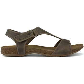 Sapatos Mulher Sandálias Interbios SANDALIA COMODA ANATOMICA PARDO