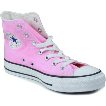 Sapatos Criança Sapatilhas de cano-alto Converse ALL STAR ROSA