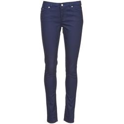 Textil Mulher Calças Element STICKER Azul