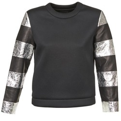 Textil Mulher Sweats American Retro DOROTHY Preto / Prateado
