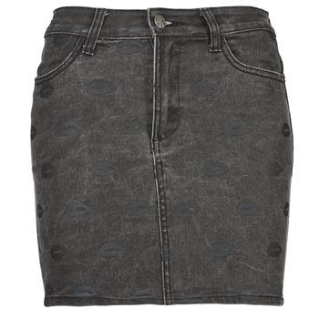 Textil Mulher Saias American Retro HELENE Cinza
