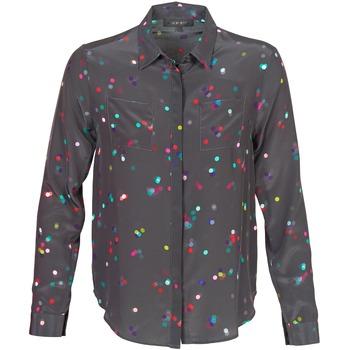 Textil Mulher camisas American Retro HOLLY Preto