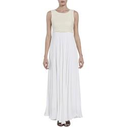 Textil Mulher Vestidos compridos Kocca Vestido Bosae Branco