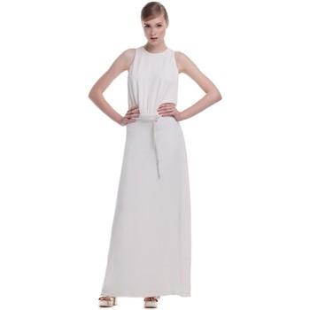 Textil Mulher Vestidos compridos Kocca Vestido Nexel Branco