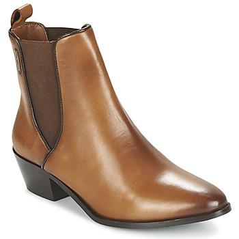 Sapatos Mulher Botins Pepe jeans DINA Castanho
