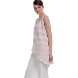 Textil Mulher Tops sem mangas Kocca Top Vuren Rosa