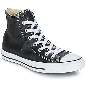 Sapatos Sapatilhas de cano-alto Converse Chuck Taylor All Star CORE LEATHER HI Preto