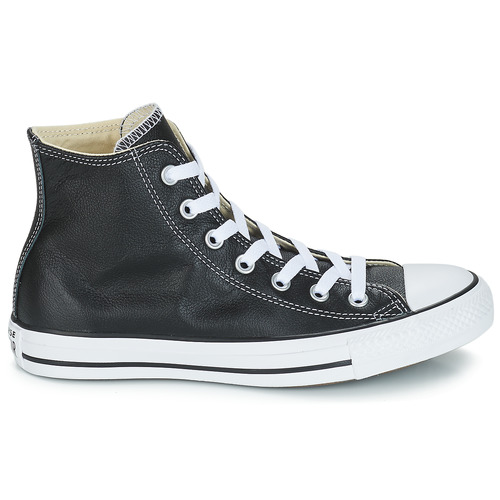 Converse Chuck Taylor All Star CORE LEATHER HI Preto - Entrega gratuita  - Sapatos Sapatilhas de cano-alto  8700