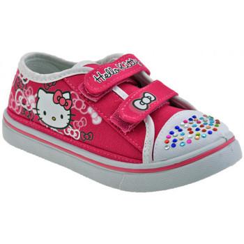 Sapatos Criança Sapatilhas Hello Kitty  Rosa