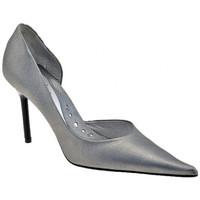 Sapatos Mulher Escarpim New Line  Prata