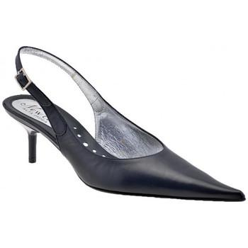 Sapatos Mulher Escarpim New Line  Azul