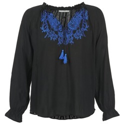 Textil Mulher Tops / Blusas Betty London ESIBELLE Preto