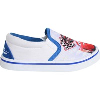 Sapatos Rapaz Slip on Cars - Rayo Mcqueen S15511H Blanco