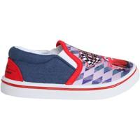 Sapatos Rapaz Slip on Cars - Rayo Mcqueen S15511H Azul