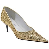 Sapatos Mulher Escarpim Bocci 1926  Ouro