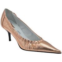 Sapatos Mulher Escarpim Bocci 1926  Laranja