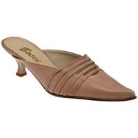 Sapatos Mulher Tamancos Bocci 1926  Castanho