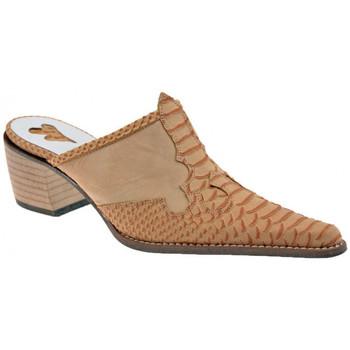 Sapatos Mulher Tamancos Bocci 1926  Laranja